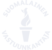 Suomalainen vastuunkantaja logo
